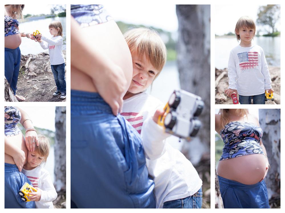 Family portrait pregnancy marbella photography