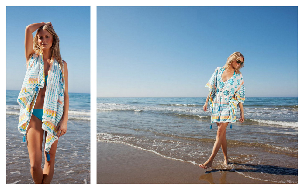 mya blue lindsey brown collection kaftan summer fashion