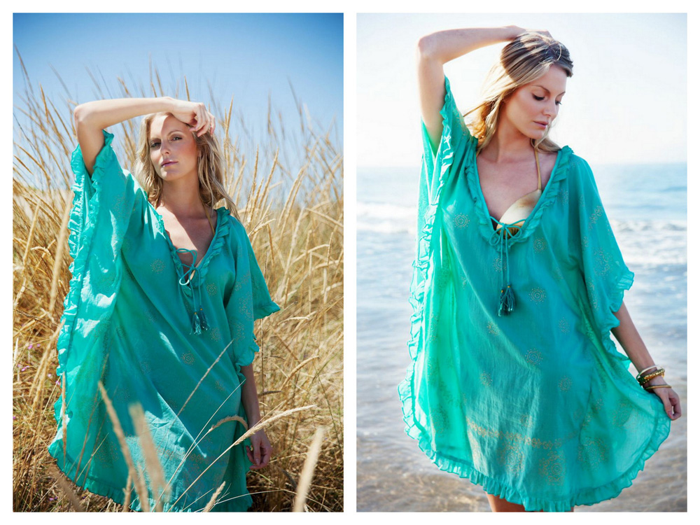 mya blue lindsey brown collection kaftan summer fashion