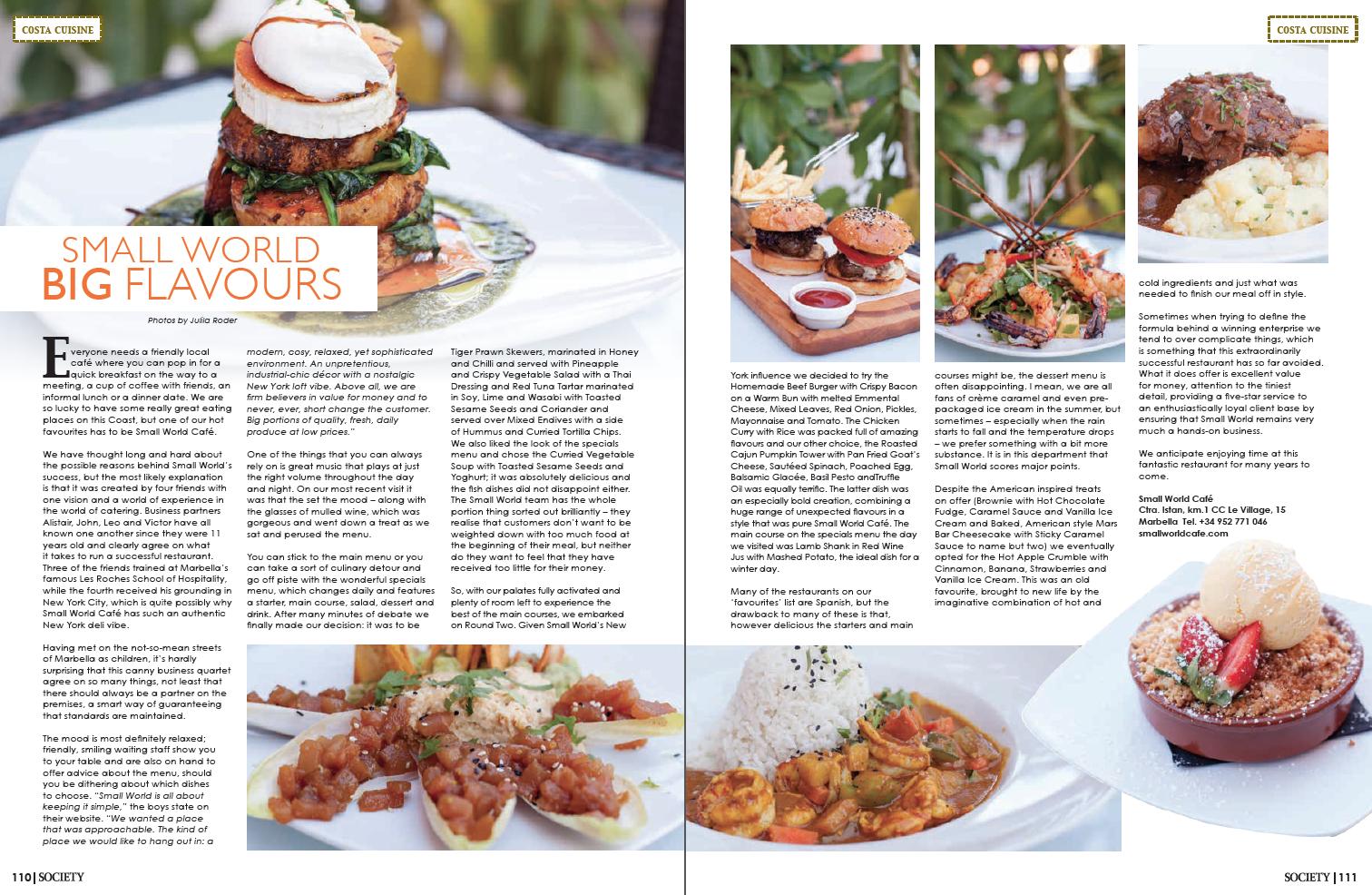 food photography marbella soceity magazine marbella